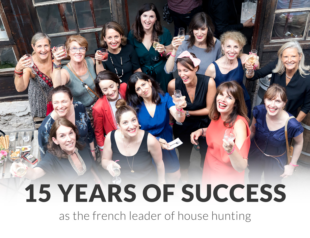 house hunting leader in France for 15 years